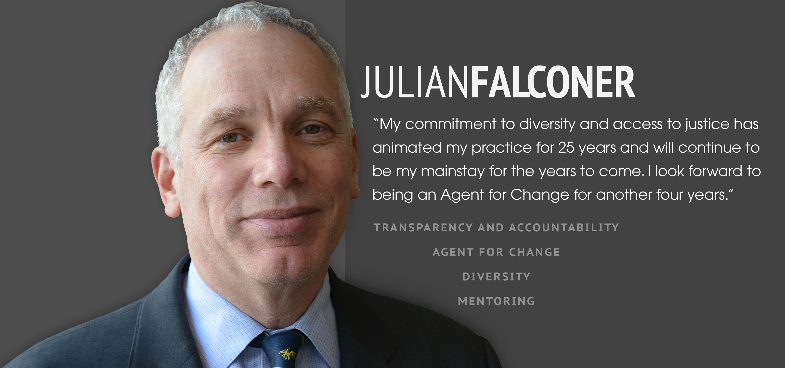 Julian Falconer for Bencher